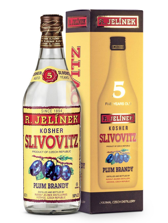 Slivovice kosher 5yo 50% 0,7l