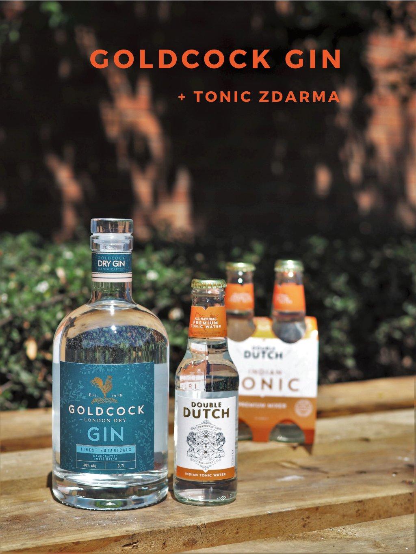 GOLDCOCK gin + DD tonic