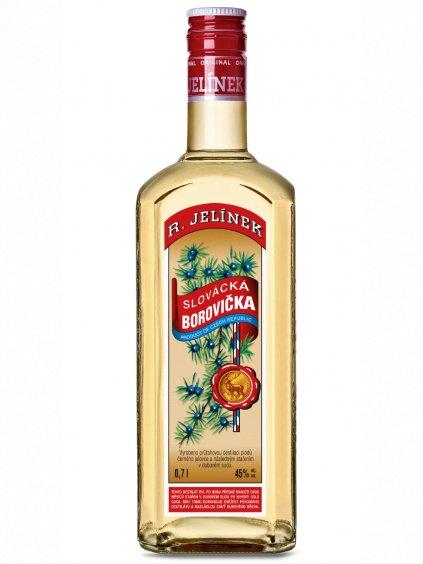 Slovácká borovička ze sudu 45% 0,7l