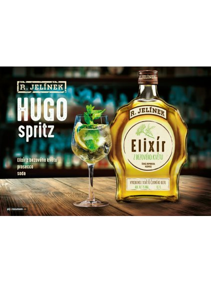Hugo Spritz koktejl