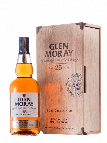 GLEN MORAY PORTCASK 25YO 43% 0,7L