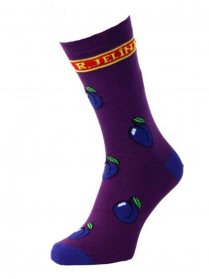 Ponožky švestka R. JELÍNEK