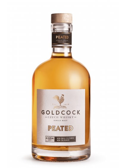 Gold Cock Peated Single Malt 49,2% 0,7l
