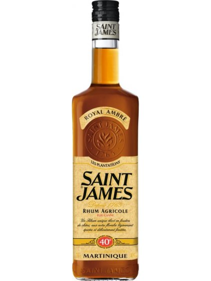 Saint James Royal Ambre 40% 0,7l