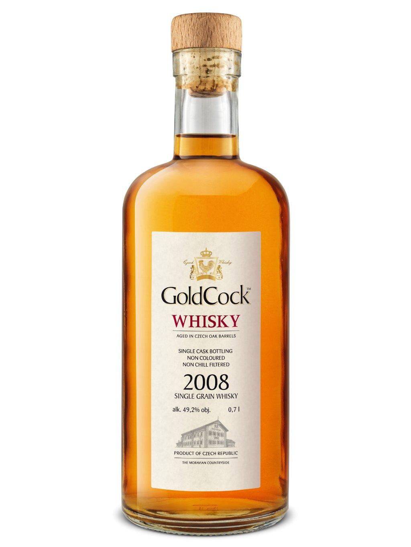 GOLDCOCK Single Grain 2008 49,2% 0,7l