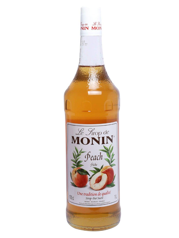 Monin sirup broskyňa 1l