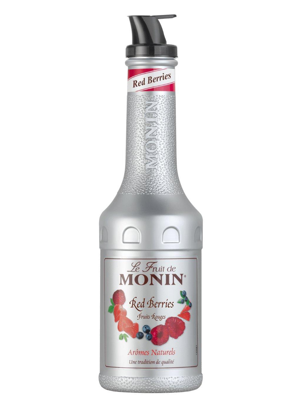 Monin pyré červené ovocie 1l