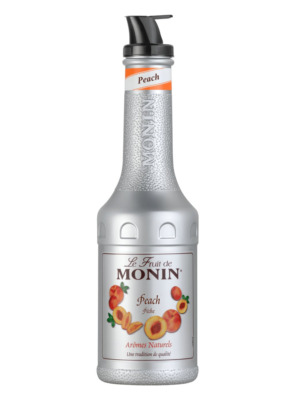 Monin pyré broskyňa 1l