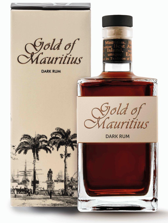 Gold Of Mauritius Dark 40% 0,7l
