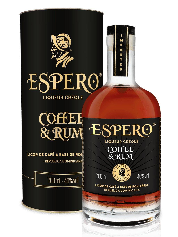 Ron Espero Coffe & Rum 40% 0,7l