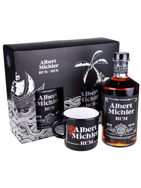 Albert Michler Jamaican Dark 40% 0,7l + hrnček
