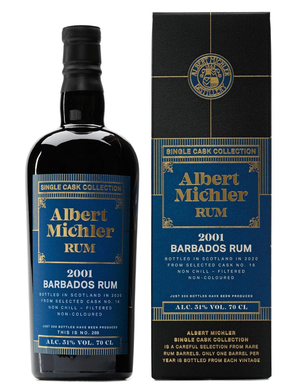 Albert Michler Single Cask Barbados 2001 51% 0,7l