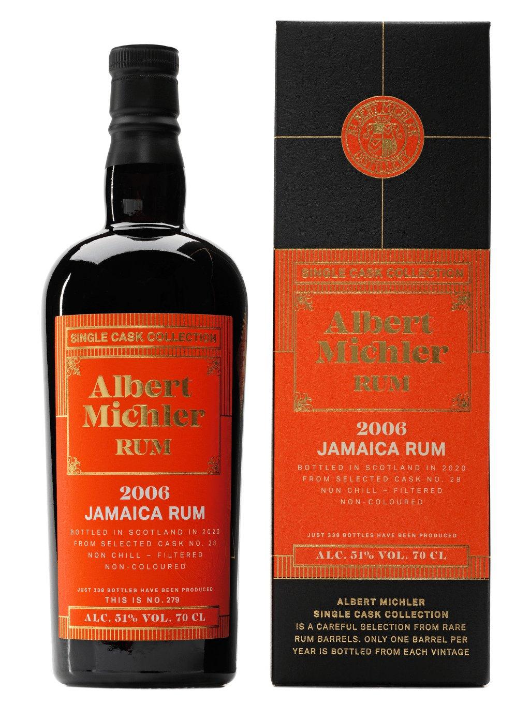 Albert Michler Single Cask Jamaica 2006 51% 0,7l
