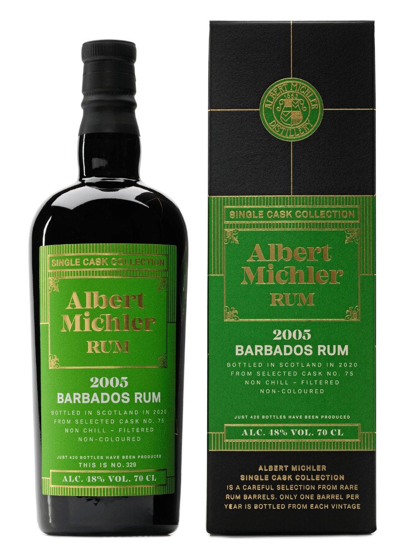 Albert Michler Single Cask Barbados 2005 48% 0,7l