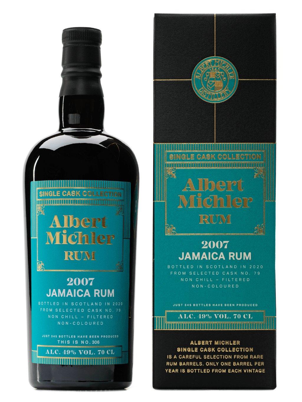 Albert Michler Single Cask Jamaica 2007 49% 0,7l