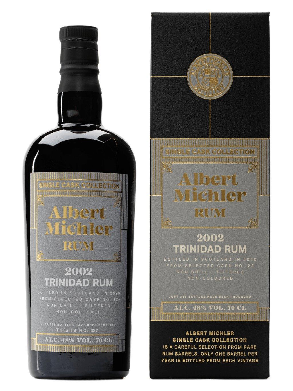 Albert Michler Single Cask Trinidad 2002 48% 0,7l