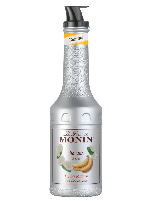 Monin pyré banán 1l