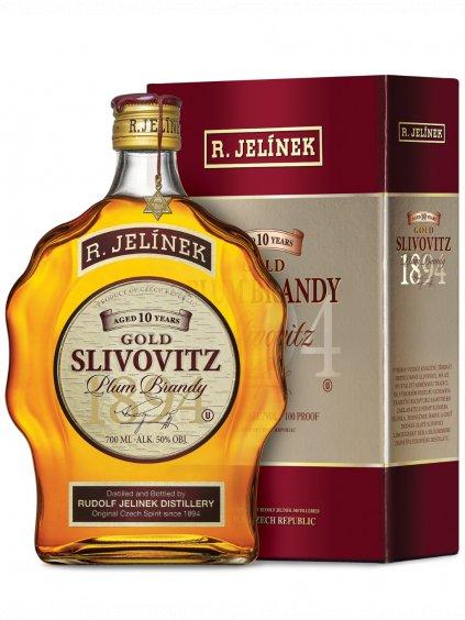 Gold Slivovitz kosher 50% 0,7l