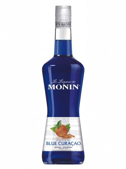 Monin likér Blue Curacao 20% 0,7l