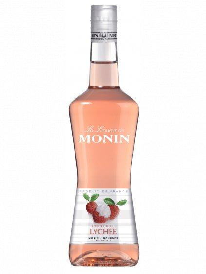 Monin likér Liči 17% 0,7l
