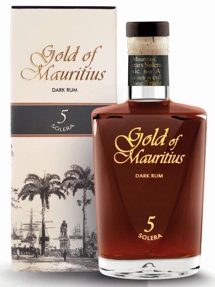 Gold Of Mauritius Solera 5yo 40% 0,7l