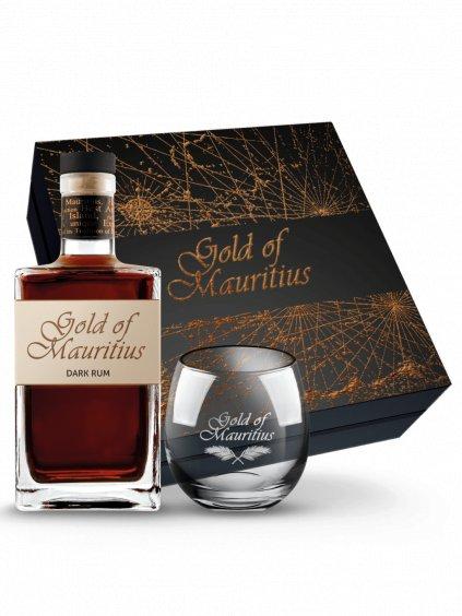 Gold Of Mauritius Dark 40% 0,7l + sklo