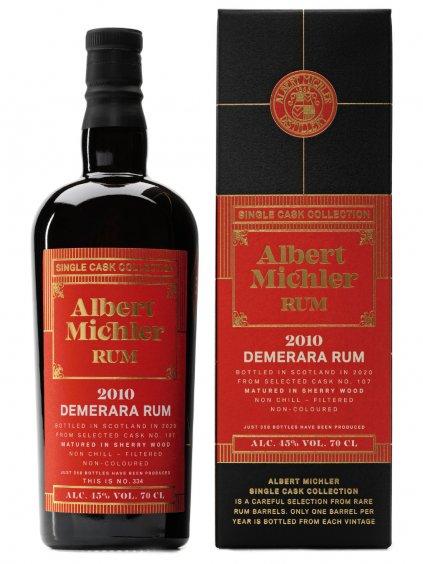Albert Michler Single Cask Demerara 2010 45% 0,7l