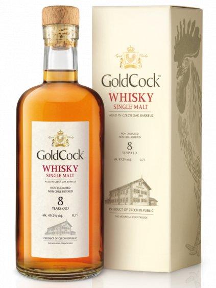 GOLDCOCK  Single Malt 8yo 49,2% 0,7l