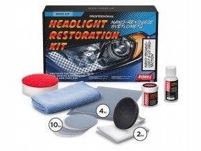 Sada na renovaci světlometů Rowax Basic
