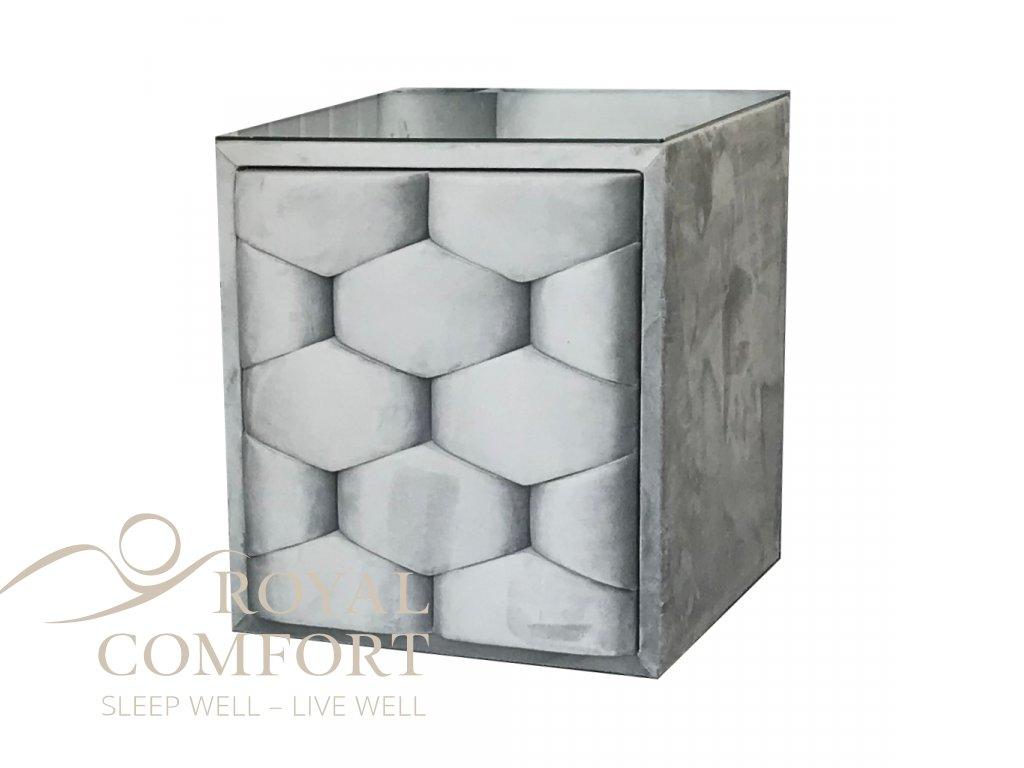 1 nocni stolek mozaique zasuvkovy