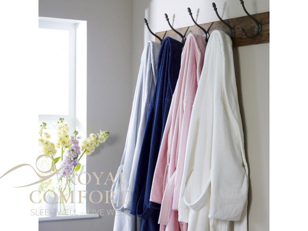 Župan Luxury Cotton Velour 450GSM King of Cotton®