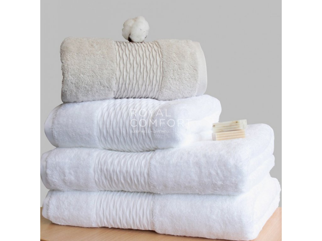 Ručník Organic Cotton Single Yarn King of Cotton®