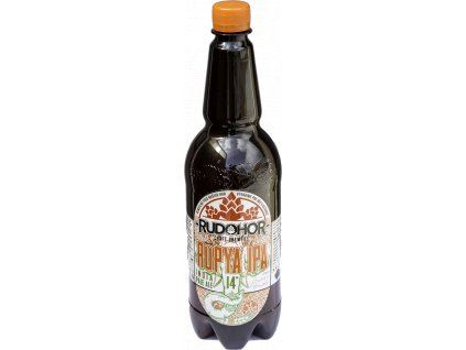 Rudohor Rüpya 14° India Pale Ale 1,0 litru PET