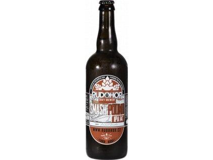 Rudohor Smash Pound 14° India Pale Ale 0,75 litru SKLO