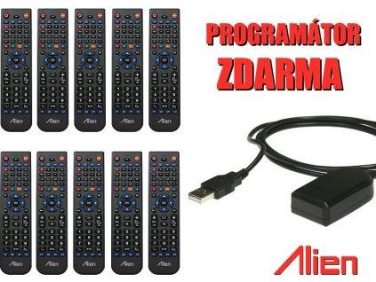 10x ovladač ALIEN 4v1 + USB programátor ZDARMA