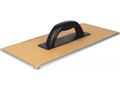Škrabák plechový / dřevěný 40x18cm