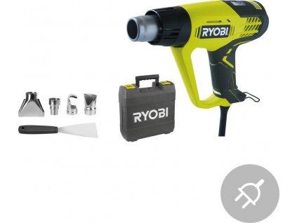 Elektrická horkovzdušná pistole EHG2020LCD Ryobi, LCD, 2000W