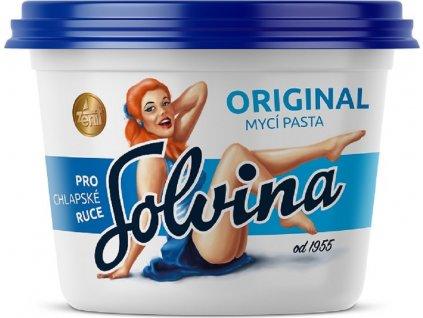 Pilinová mycí pasta na ruce Solvina original, 450g