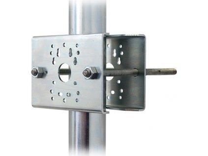 Držák kamer na stožár DKS105 - galvanický zinek
