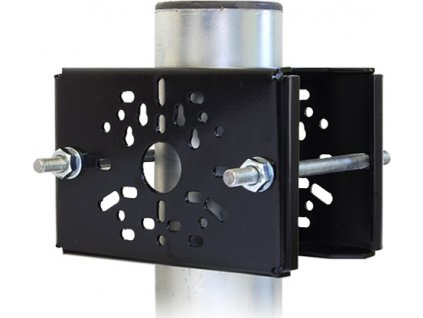 Držák kamer na stožár DKS105 - komaxitovaný černý
