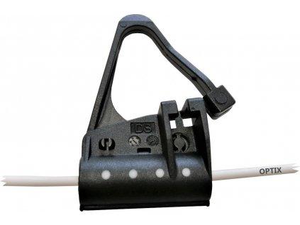 Kotvící svorka/úchytka/kotva PRŮBĚŽNÁ pro instalaci DROP kaberu