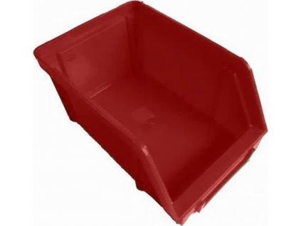 EKOBOX  15x10cm  červený (plastový)