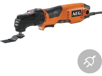 Elektrické multifunkční nářadí AEG OMNI 300 SET1, 300W