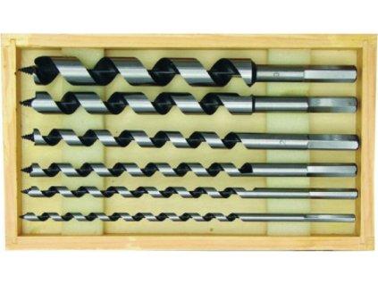 Sada hadovitých vrtáků 6ks 6-20x230mm box