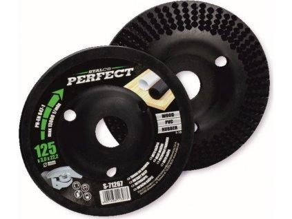 rašple rotační rovná 125x3.0x22,2mm pro úhl.brusky STALCO