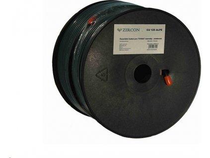 Koaxiální kabel  Zircon CU 125 ALPE / 100 m / 6,8mm