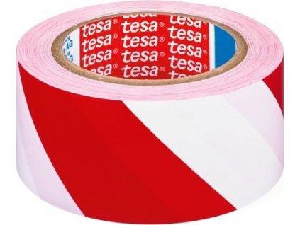 páska výstražná 50mmx33m ČRV-BÍ samolepicí TESA