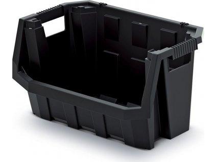 Plastový úložný box TRUCK MAX 580x380x342 černý