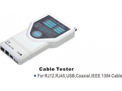 Univerzální Tester RJ12,RJ45,USB,BNC,IEEE 1394