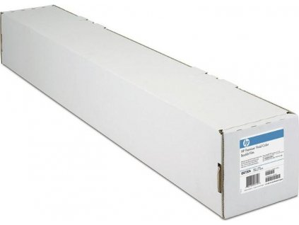 HP 2-pack Everyday Adhesive Matte Polypropylene-610 mm x 22.9 m (24 in x 75 ft),  8.5 mil/168 g/m2 (with liner), C0F18A